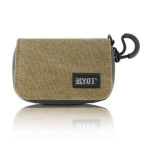 RYOT – Estuche Anti Olor Krypto Kit Olivo 10 cms