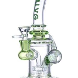 Calvo Glass – RIG Cuerno Mediano Verde 22 cm