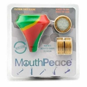 MOOSE LABS MOUTHPEACE STARTER KIT 3 FLT RASTA