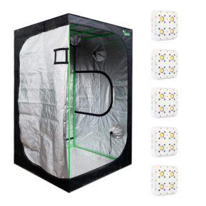 Pack LED Indoor 120×120 – 5 Apollo Evolution 4
